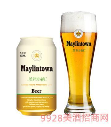 美林小镇啤酒10度330ml拉罐
