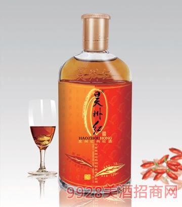 昊州红枸杞酒18°138ml精品昊州小调