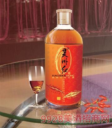 昊州红枸杞酒18°238ml精品昊州红杞
