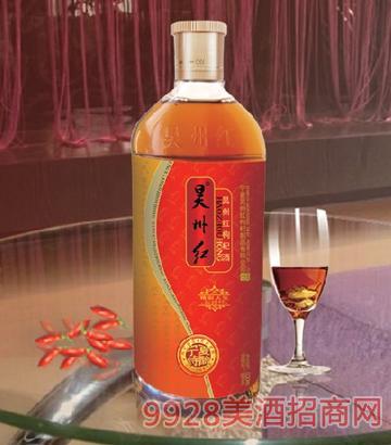 简装昊州红枸杞酒18%vol 500ml宁夏特酿精彩人生