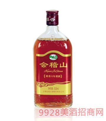 会稽山醇香六年陈黄酒