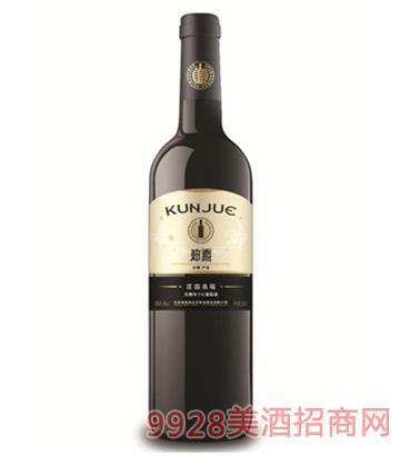 坤爵庄园赤霞珠干红葡萄酒