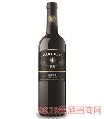 坤爵庄园特级赤霞珠干红葡萄酒
