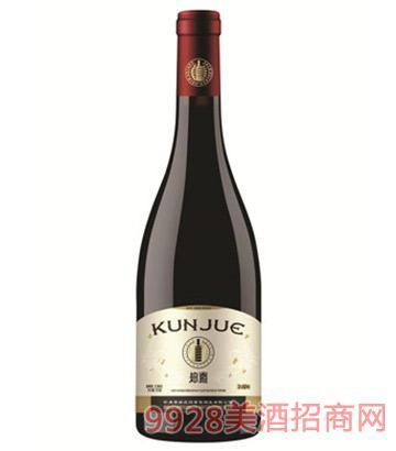 坤爵庄园典藏赤霞珠干红葡萄酒