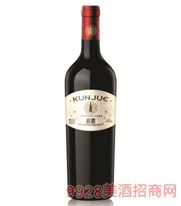 坤爵庄园珍藏赤霞珠干红葡萄酒
