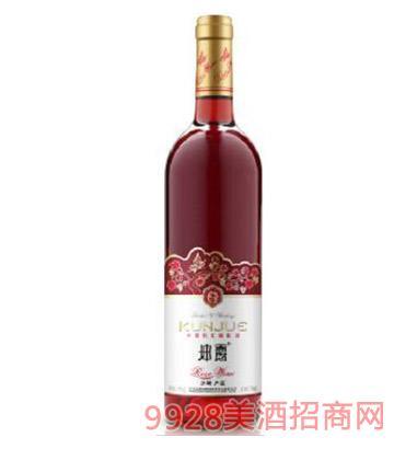 坤爵美乐半甜桃红葡萄酒
