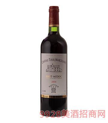 塔楼城堡葡萄酒