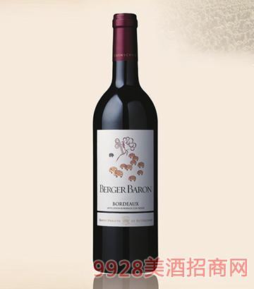 罗斯柴尔德男爵伯格伯爵红葡萄酒