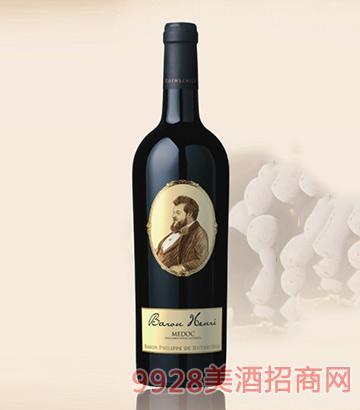 罗斯柴尔德男爵天赐梅多克红葡萄酒