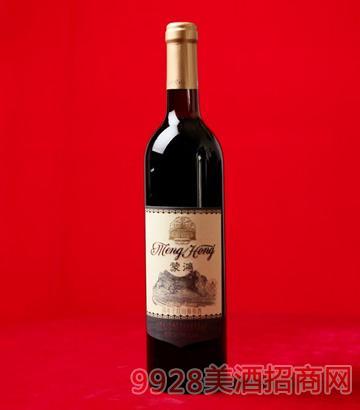 蒙鸿陈年干红山葡萄酒