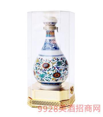 青花瓷品鉴酒