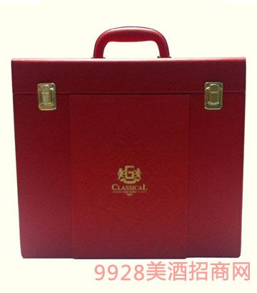 卡布雷登-包装六只装精品皮箱(红)
