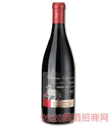 卡布雷登-金羊2008西拉干红葡萄酒