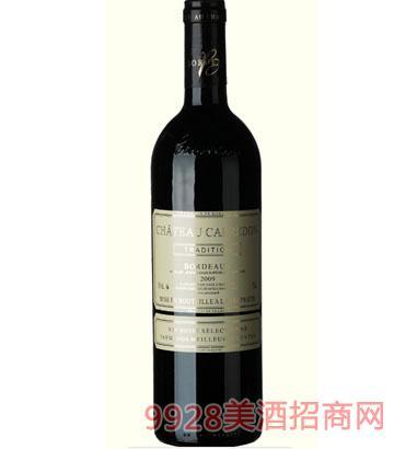 卡布雷登——美乐经典2009干红葡萄酒