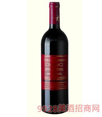 卡布雷登庄园-红色经典2007干红葡萄酒