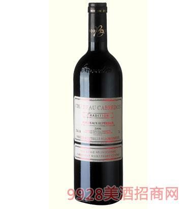 卡布雷登庄园-老树根经典2006干红葡萄酒