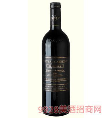 卡布雷登庄园-2005干红葡萄酒