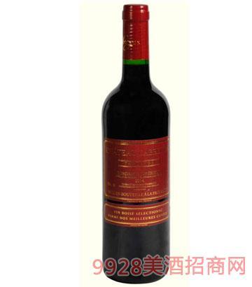 卡布雷登特酿红色经典2014干红葡萄酒