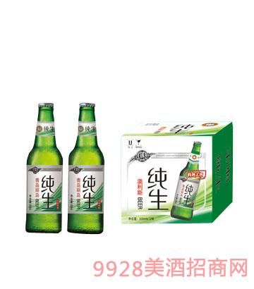 澳利斯纯生啤酒500ML