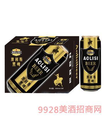 澳利斯黑啤酒500MLx12