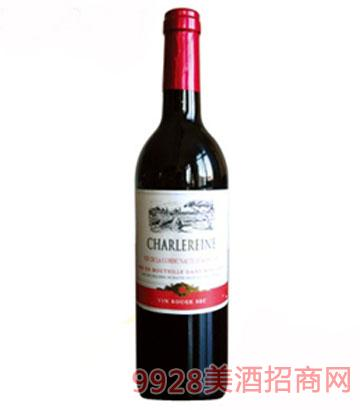 法国原装进口查乐尼干红葡萄酒