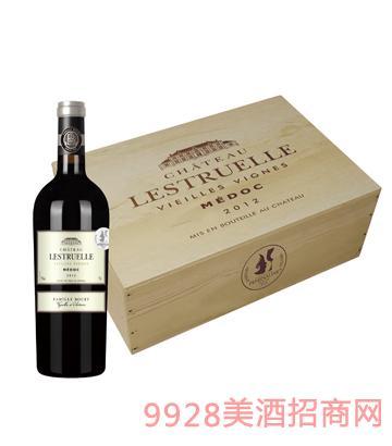 JK016里斯特六支装木盒葡萄酒