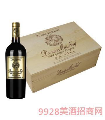 JK007曼斯新堡六支装木盒葡萄酒