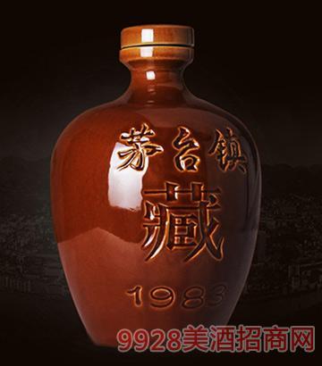 茅台镇酱香纯粮食原浆2斤坛装53度酒