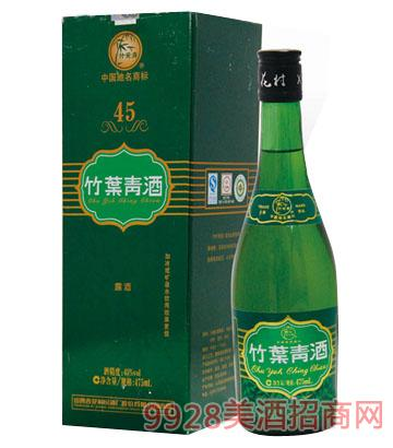 盒装竹叶青酒