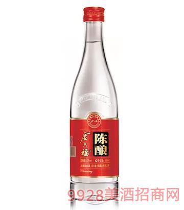 金六福陈酿光瓶酒