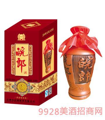金皖郎酒紫砂42-52%vol500ml
