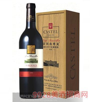 长城橡木桶干红【木盒子】解百纳葡萄酒