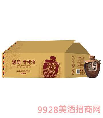 赖尚青稞酒高原生态原浆系列248ml