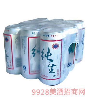 冰城純生態啤酒