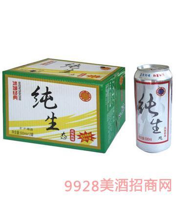 冰城純生態啤酒500ml
