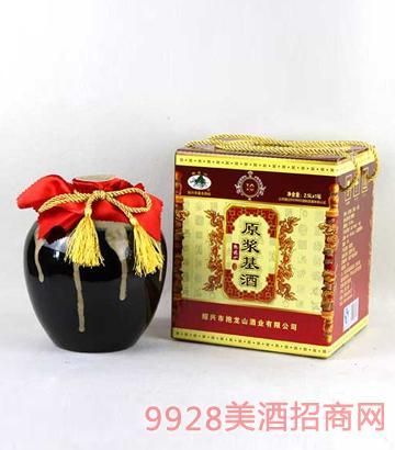 紹興黃酒抱龍山十年陳原漿基酒