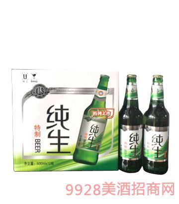 澳利斯特制纯生啤酒500mlx12(新装上市)
