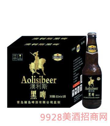 澳利斯黑啤啤酒500mlx12