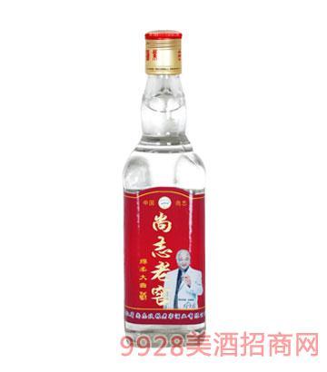 尚志老窖酒绵柔大曲42度450ml浓香型