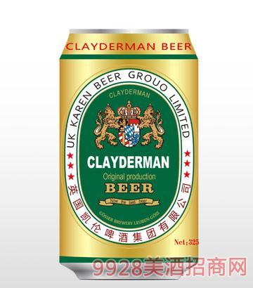 金色凯伦325ml啤酒