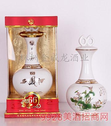 52度同顺和西凤酒(白珍珠)凤香型(精品)500mlX4盒