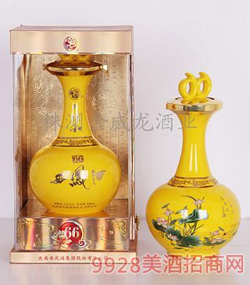52度同顺和西凤酒(黄金玉)凤香型(精品)500mlX4盒