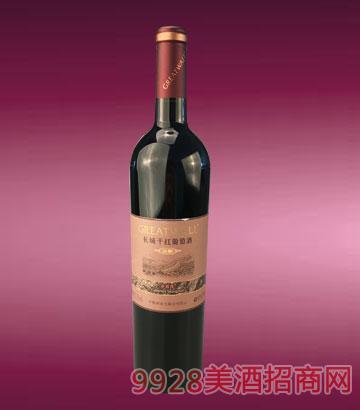 长城橡木桶窖酿赤霞珠干红葡萄酒