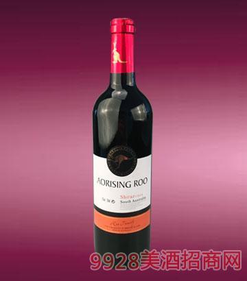 奥瑞星袋鼠·西拉红葡萄酒