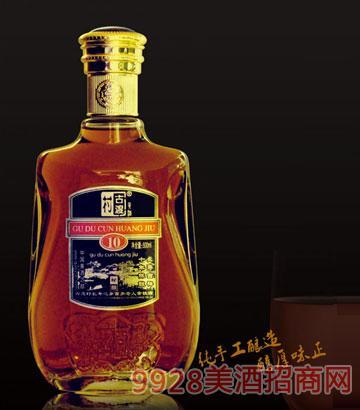 长寿吉祥十年陈酿古渡村黄酒500ml