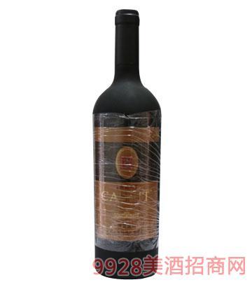 卡斯特干红葡萄酒13%vol750ml