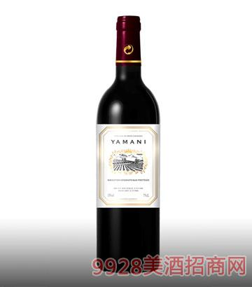 玛尼城堡干红葡萄酒13%vol750ml