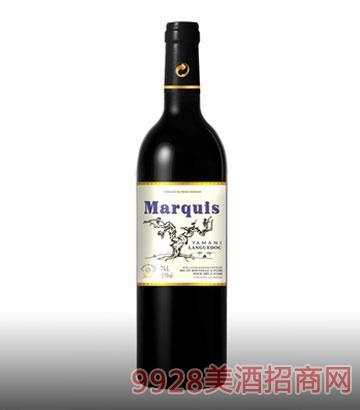 亚玛尼侯爵葡萄酒13%vol750ml
