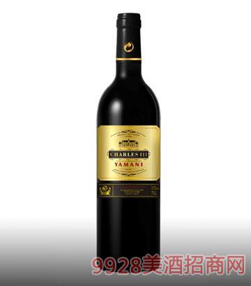亚玛尼查理三世葡萄酒13%vol750ml