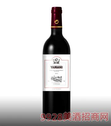 亚玛尼古堡葡萄酒13%vol750ml